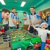 Dublin's All-Ireland winners visit Crumlin Children's Hospital with Sam Maguire