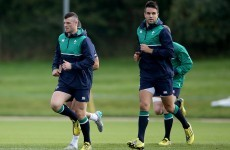 In pics: Ireland - and Robbie Henshaw - trained at the home of English football today