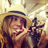 Putting on makeup on public transport - yay or nay?
