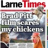 Brad Pitt is filming in Ireland and here's the best headline about it