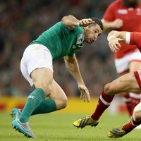 Rob Kearney made three tackles in just eight seconds at the World Cup