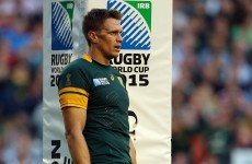 South Africa make eight changes (!) to the team humiliated by Japan