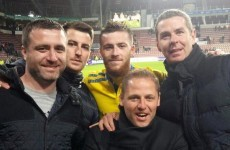 Jack Byrne's schoolboy club showed up as he faced PSV Eindhoven in the Dutch Cup