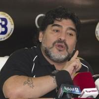 WATCH: Maradona kicks out at Al-Wasl fan