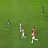 Mexican striker scores most bizarre goal of his career after embarrassing goalkeeping howler