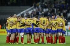 Romania's late consolation try celebrations were incredibly joyful last night