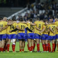 Romania's late consolation try celebrations were incredibly joyful last night