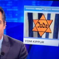 TV station uses Nazi Holocaust symbol in a story about Jewish holiday