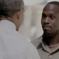 Watch the moment Barack Obama met jailed drug dealers for a new prison documentary