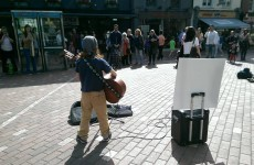 This 11-year-old from Cork is busking twice a week to raise money for refugees