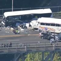 Four dead, 12 critical after crash between tour bus and amphibious vehicle