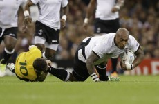 Fiji's key man Nemani Nadolo has been cited after yesterday's game against Australia