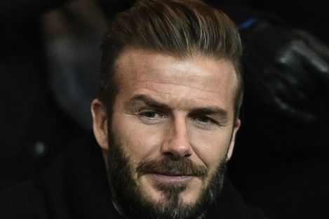 David Beckham says he has no issue with Alex Ferguson's recent comments.
