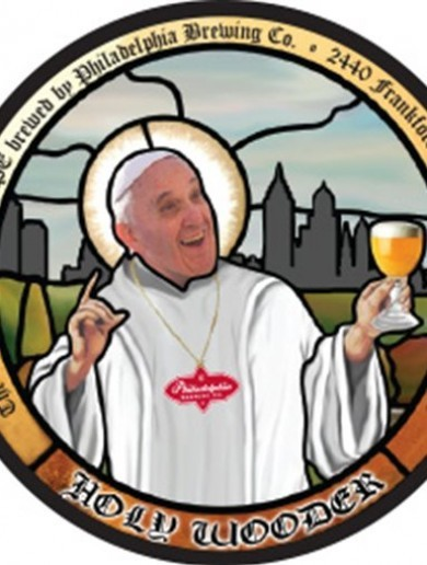 Will Pope Francis try the 9.75% Belgian-style craft beer brewed in his honour?