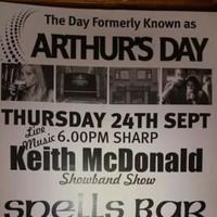 One Irish pub still celebrated Arthur's Day yesterday