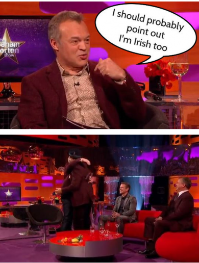 5 times Irish people absolutely owned the Graham Norton Show