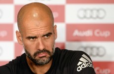 Pep Guardiola walks out on media after England question