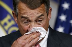 A huge row over abortion caused this senior US politician to quit today. Here's why...