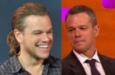 Matt Damon talked about THAT ponytail on Graham Norton last night