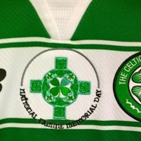 Celtic will wear special jerseys to remember victims of the Great Irish Famine today