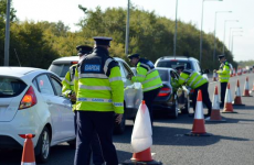 Gardaí carrying out alcohol testing on motorway