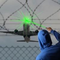 Teenager arrested after laser light shone on police helicopter