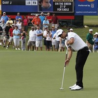 Scott takes the lead at Tour Championship
