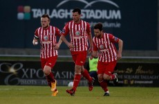 Sligo Rovers came out on top after a five-goal thriller tonight