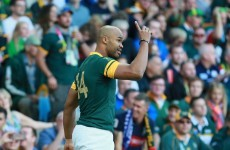 Silky smooth hands from De Villiers and Le Roux help see off Samoa