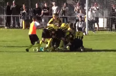 The magic of the cup! Goalkeeper scores dramatic last-gasp overhead kick