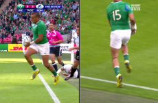 Is this disallowed Simon Zebo effort the greatest try that Ireland never scored?