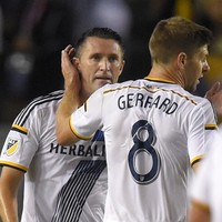 Keane and Gerrard send LA Galaxy back to the top of the MLS