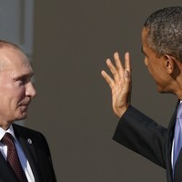 Obama slams Russia and Iran for supporting 'child-killing tyrant' Assad