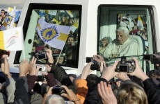 Gun fired ahead of Pope's mass in Germany