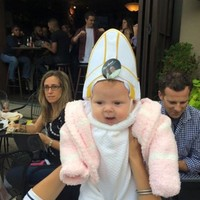 Pope Francis roared laughing at a tiny baby pope and it was simply adorable