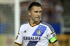 Robbie Keane has been impressed with Steven Gerrard's start to life at LA Galaxy