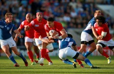 Tonga get off the mark in Pool C but pushed all the way by excellent Namibia