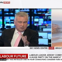 """Let's talk football"" - Eamonn Holmes accused of 'pathetic' interview with Jeremy Corbyn"