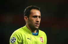 Stop everything! Arsenal's David Ospina has dropped an absolute clanger tonight