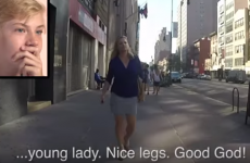 Sons watched their mums getting catcalled... and they weren't impressed