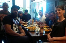 Tonga prepared for their Namibia win with a very cheeky diet