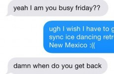 This girl didn't want a second date... but the lad didn't take the hint