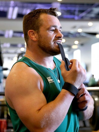 'The fire is starting to burn, Cian Healy wants that jersey back'