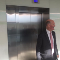 Enda Kenny and two ministers got stuck in a lift today