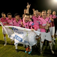 One ex-Ireland international is throwing Wexford Youths a party after their title win