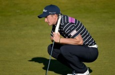 A hole-in-one and a share of the lead, it's been quite a pro debut for Paul Dunne