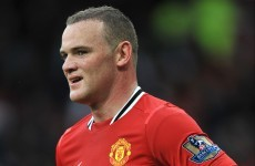 Rooney could be sidelined for 'a few weeks'