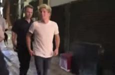 Niall Horan got pure sassy with annoying paparazzi last night