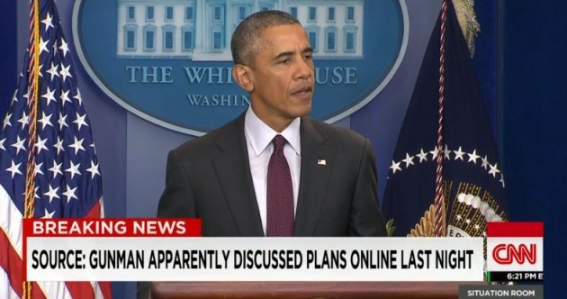 "WATCH: Obama responds angrily to mass shooting: ""We've become numb to this"""