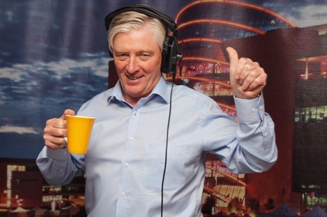 Pat Kenny, one of Newstalk's broadcasters.